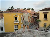 Cartagena - on the walls surrounding the old town: by beckandphil, Views[227]