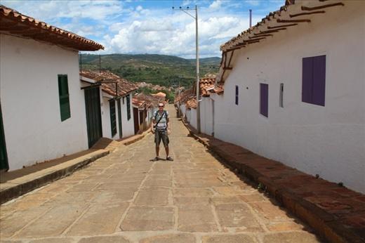 Barricharra, in the mountains near San Gil