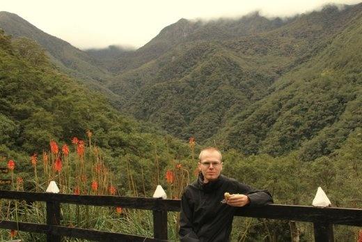 Scenic lunch, Valle de Cocora