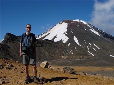 Phil in Tongariro National Park
