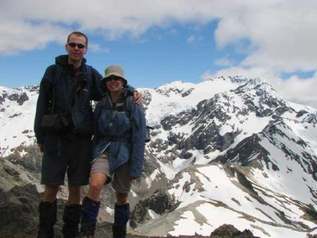 The summit of Avalanche Peak, Arthurs Pass National Park