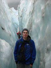 Phil on full day glacier walk, Franz Josef Glacier: by beckandphil, Views[329]