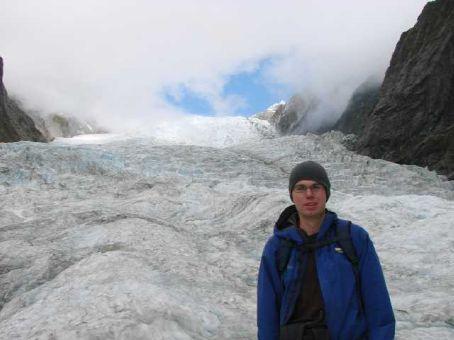 Phil again on Franz Josef Glacier