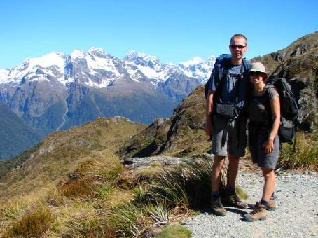 A typical scenic outlook on Day 2 of the Routeburn Track