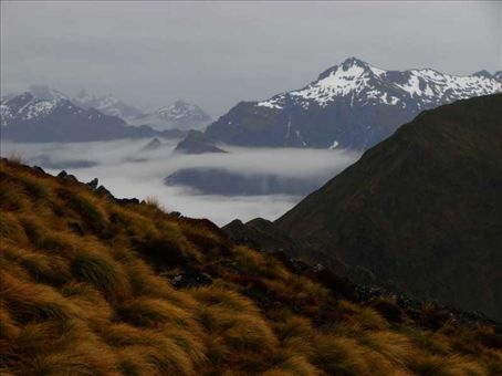 Kepler Track - Day 2. Sandwiched between clouds