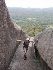 Climbing the Pyramid, Giraween National Park, Queensland: by beckandphil, Views[817]