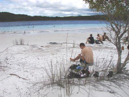 Birabeen Lake, Fraser Island