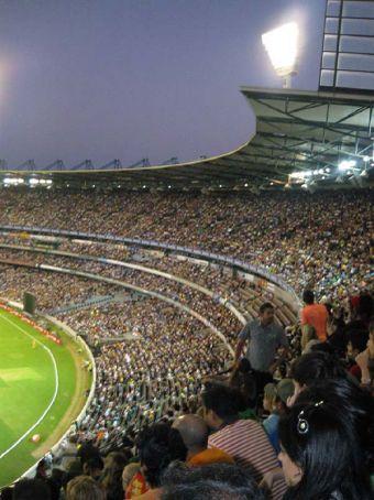 MCG for Australia vs India 20-20 match