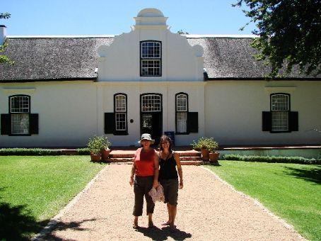 Boschendal Winery, Stellenbosch wine region, South Africa