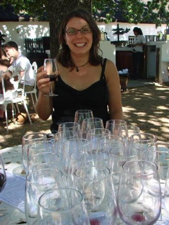 Beck wine tasting at Boschendal Winery
