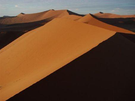 Namib Desert at sunrise