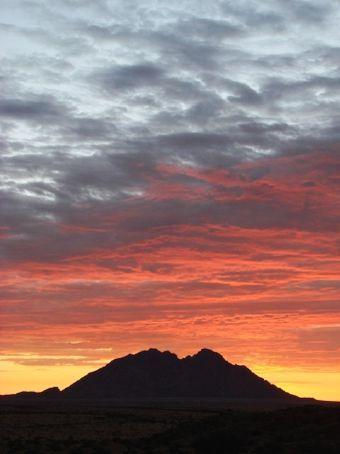 Sunset at Spitzkoppe, Namibia
