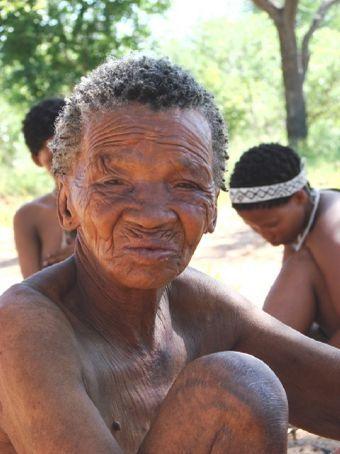 San Bushman elder