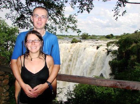 Us at Victoria Falls, Zamba
