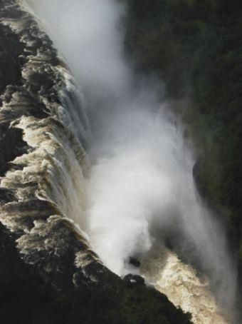 Scenic flight over Victoria Falls
