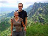 Us at Irente Viewpoint, Usambara Mts: by beckandphil, Views[528]