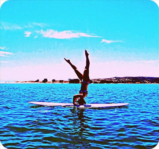 Paddle boarding in Western Australia