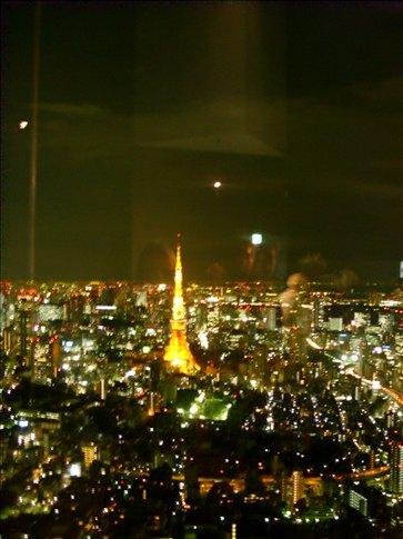 Tokyo Tower & City Lights