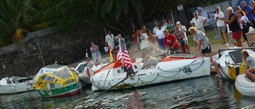 Transatlantic Canoe Race Nelsons Dockyard