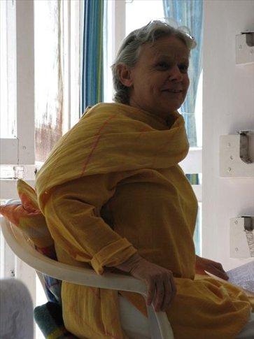 Usha Devi, our teacher
