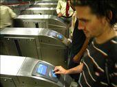 Ben entering the metro station: by ben_ju, Views[415]