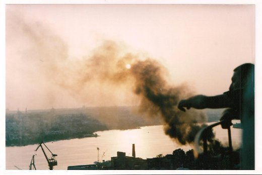 foto captured with Zenith analogic camera.