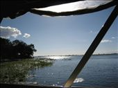 A view from our boat cruising the Chobe and Zambesi river: by bernadette_tony-travelling, Views[176]