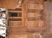 THE TREASURY AT PETRA WITH MASSES OF TOURISTS: by bernadette_tony-travelling, Views[141]