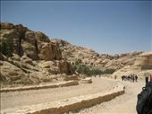 WALKING IN PETRA ON THE WAY TO MONUMENTS: by bernadette_tony-travelling, Views[238]