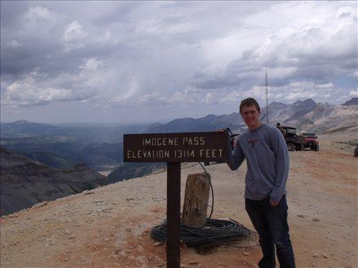 EDK at summit 13,117 ft up