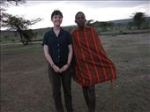 Me and John, our Masai guide.: by beth_king, Views[324]