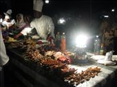The Zanzibar night market- it was completely packed with families out for a bite, sampling the amazing seafood..: by beth_king, Views[438]