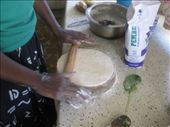 Rolling out the chapatis.: by beth_king, Views[341]