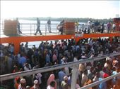 The ferry from Mombasa island to the mainland - it was very crowded!!: by beth_king, Views[638]