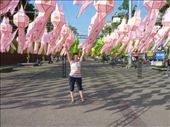 Tha Pae Gate during the lantern festival, right before Loy Krothong: by bettedarling, Views[153]