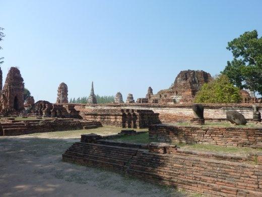 Ruins of Ayuthaya.