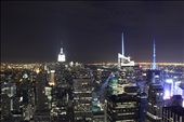 Caught from Rockafella. The photo captures the night time view of NYC: by bhoot, Views[135]