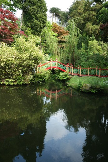 My favourite part of the gardens; an elaborate bridge which forms part of 'China' hidden from view and the rest of the garden.