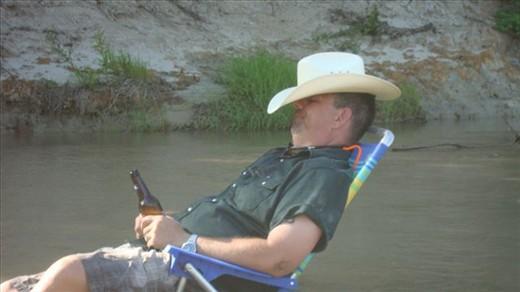 Enjoying the Creek