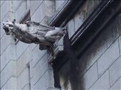 Paris -- Basilique du Sacre Coeur gargoyle.02: by billh, Views[231]