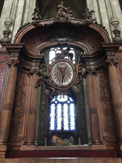 Paris -- Eglise St Eustache.15