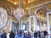 Versailles.06 -- entry to Hall of Mirrors on right: by billh, Views[154]