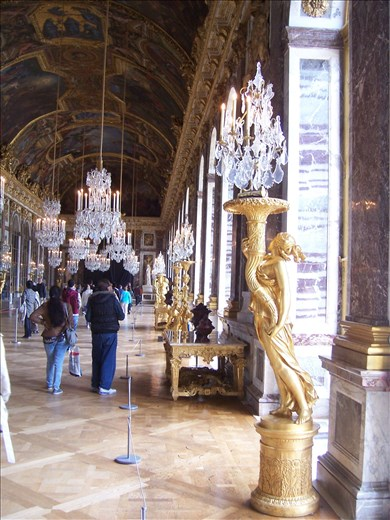 Versailles -- Hall of Mirrors.04