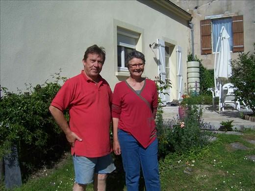 Coutures -- Rosalynne et Jean-Pierre -- apartment owners