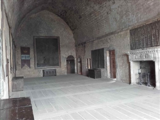 Chateau de Beynac -- Great Hall