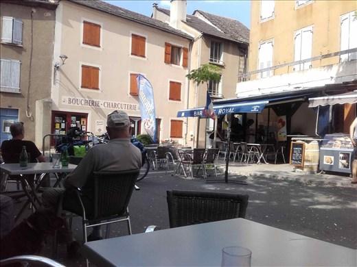 Ispagnac village square