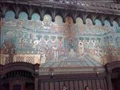 Lyon -- Basilica Notre Dame de Fourviere -- mosaic tiled fresco: by billh, Views[202]