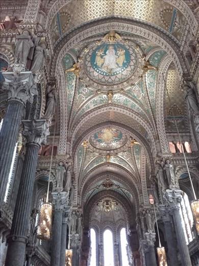 Lyon -- Basilica Notre Dame de Fourviere.02