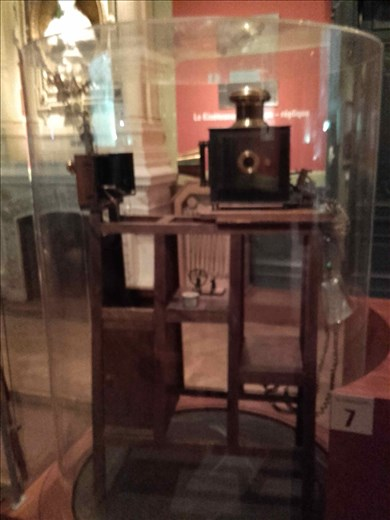 Lyon -- Lumiere brothers -- early motion picture camera
