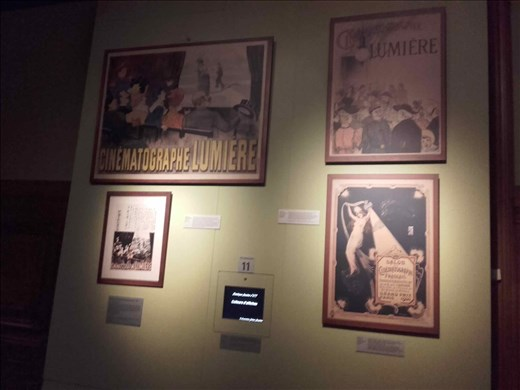 Lyon -- Lumiere brothers -- early movie posters -- 1890's